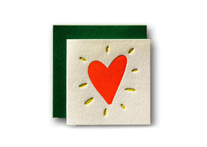 Heart Tiny Card