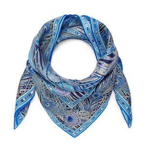Liberty London Hera 70 x 70cm Silk Twill Scarf