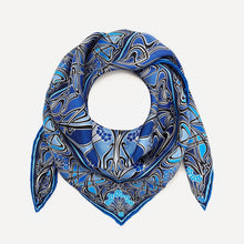 Load image into Gallery viewer, Liberty London Ianthe 70 x 70cm Silk Twill Scarf