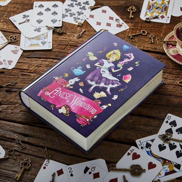Anise in Wonderland Book - Tea Tin