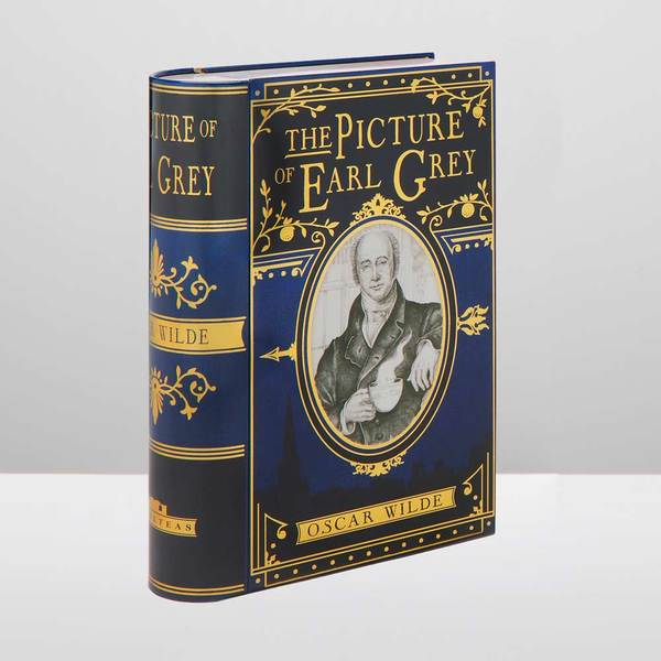 The Picture of Earl Grey Book-shaped Tea Tin