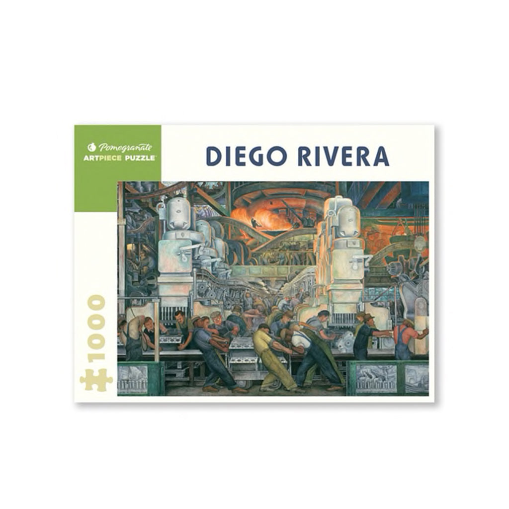 Diego Rivera: Detroit Industry 1000-Piece Jigsaw Puzzle