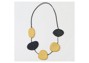 Mustard Avary Statement Necklace