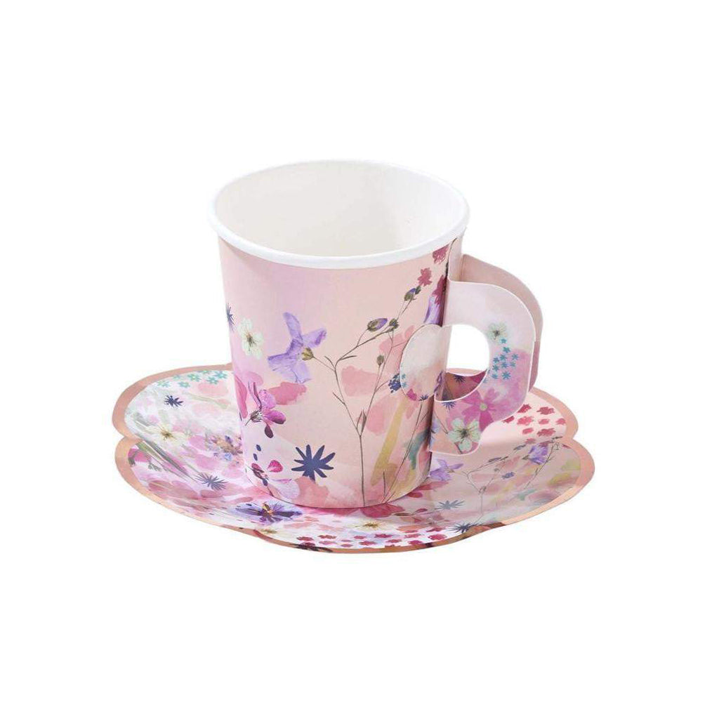 Blossom Girls Teacup & Saucer Set