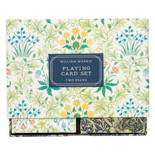 Load image into Gallery viewer, William Morris Playing card Set