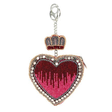 Load image into Gallery viewer, Have a Heart Beaded Coin Purse or Key Fob