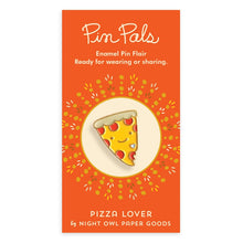 Load image into Gallery viewer, Pizza Lover Enamel Pin