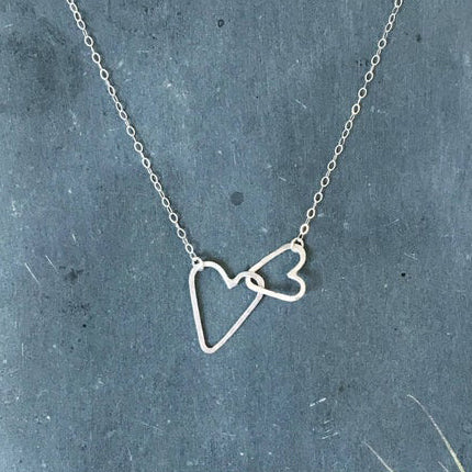 Scattered Heart Necklace