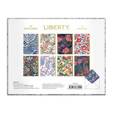 Load image into Gallery viewer, Liberty London Floral Greeting Assortment Card Set