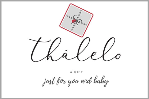 Thālelo Gift Card. to gift mother and baby. Newborn baby gift
