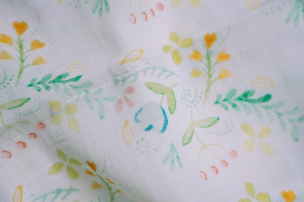 "Garden Muslin Swaddles (Set of 2; 43""x43"")"
