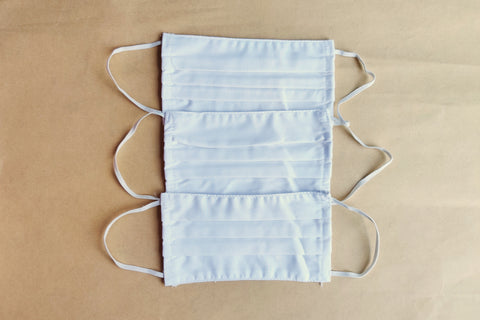 Thālelo Cotton Safety Face Mask with Bacterial Filter (White)