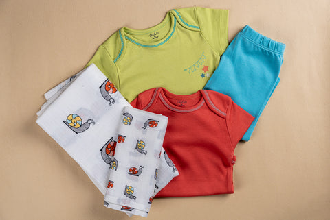 Baby Essentials Set- Snails