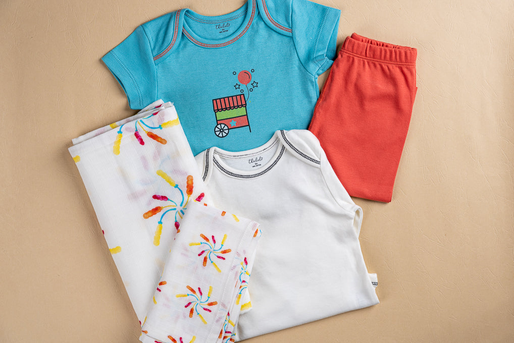 Baby Essentials Set- Balloons