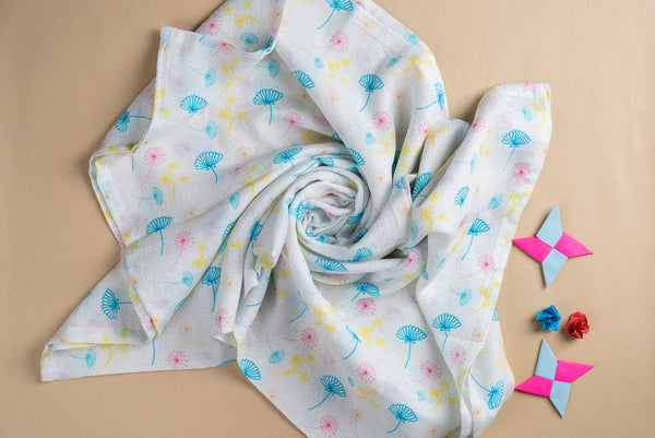 "Forest Muslin Swaddles (Set of 2; 43""x43"")"
