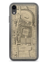 Load image into Gallery viewer, Designer iPhone Case - with CUSTOM old map of London (C&J Greenwood 1830, John Rocque 1746, Charles Booth 1898)