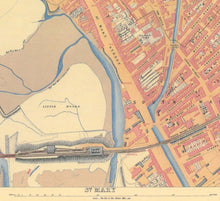 Load image into Gallery viewer, Ordnance Survey map of Cardiff, 1851