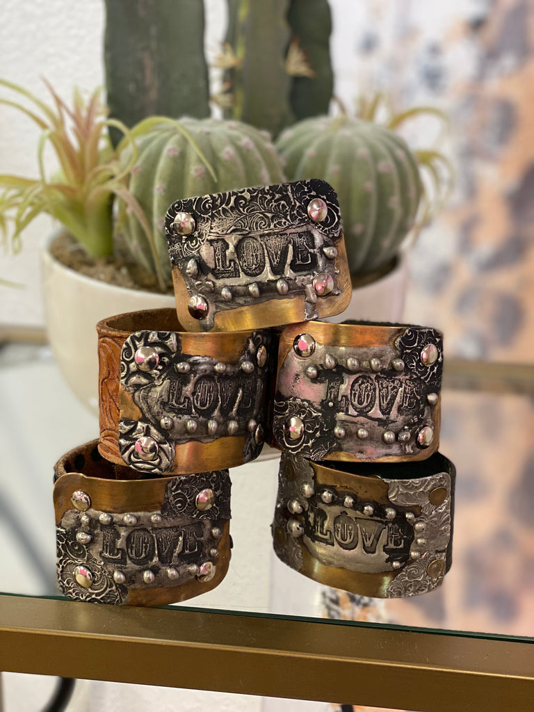 Leather Lover Cuff
