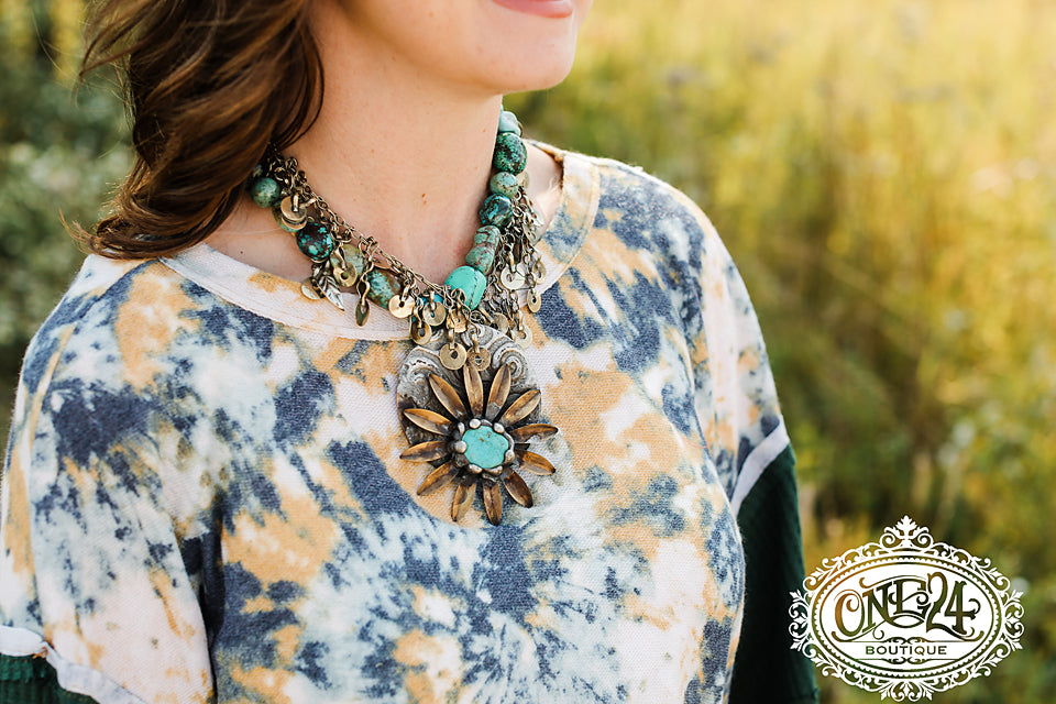 Stones In Bloom Necklace