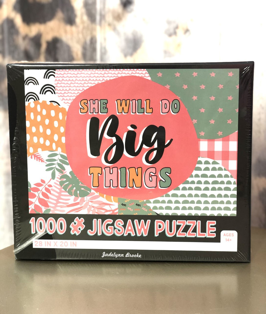 She Will Do Big Things Puzzle
