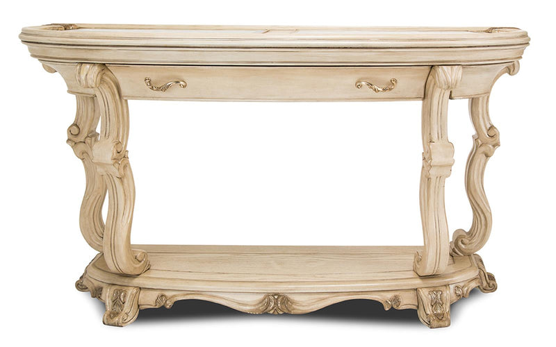 Aico Platine de Royale Console Table in Champagne 09223-201