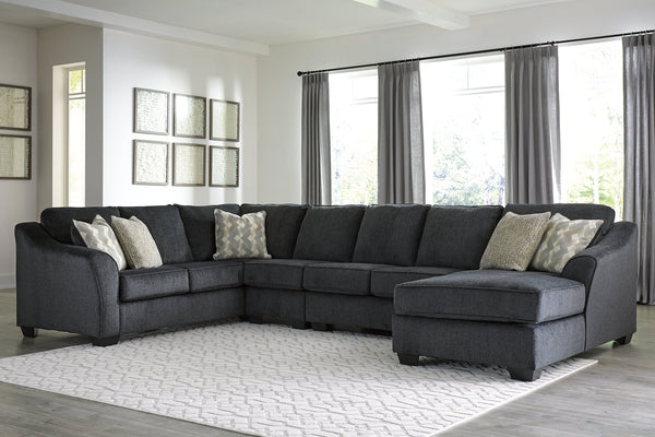 Eltmann Signature Design by Ashley 4-Piece Sectional with Chaise image