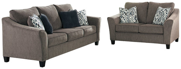 Nemoli Sofa and Loveseat Package