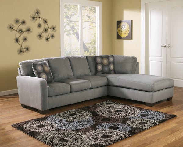 Zella Signature Design by Ashley 2-Piece Sectional with Chaise image