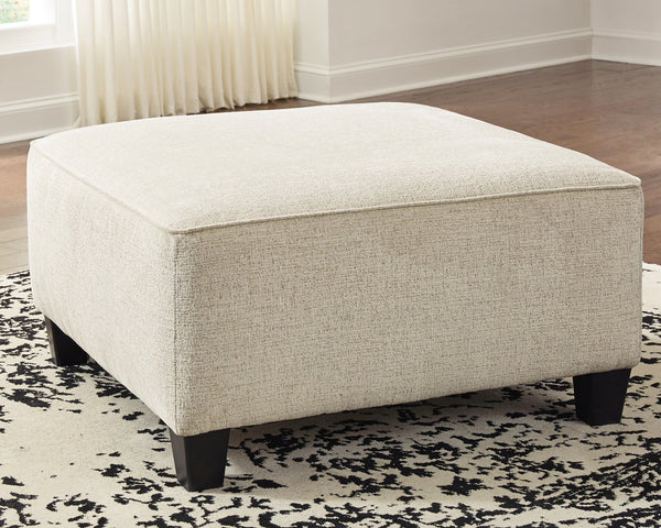 Abinger Signature Design by Ashley Oversized Accent Ottoman image