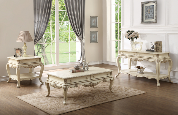 Ragenardus Antique White Coffee Table image