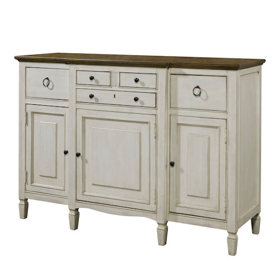 Universal Furniture Summer Hill Serving Buffet in Cotton 987670 image