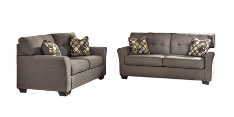 Tibbee Sofa and Loveseat Package