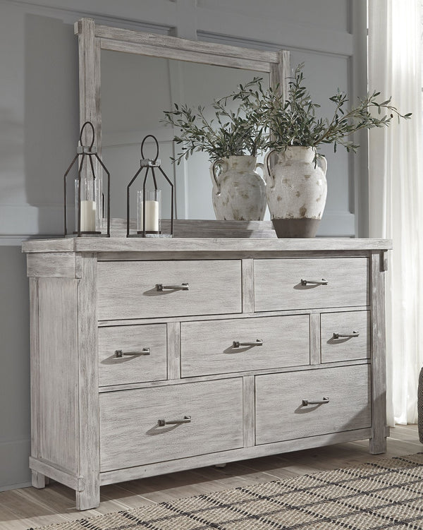 Brashland Signature Design by Ashley Dresser and Mirror