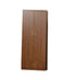 L-12A Brown Wooden Wardrobe w/ Drawer