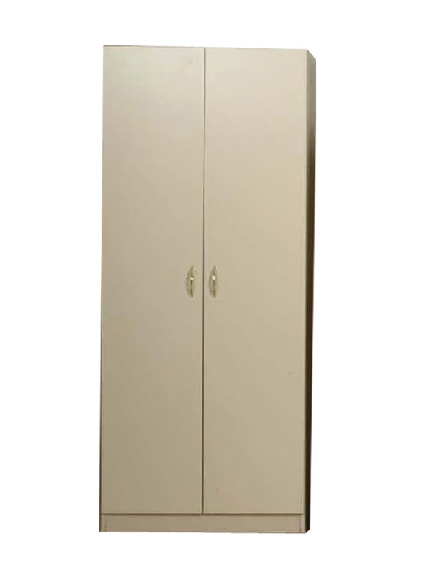 L-12 Grey Wooden Wardrobe