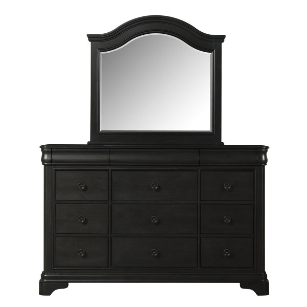 Cameron Charcoal Dresser & Mirror Set