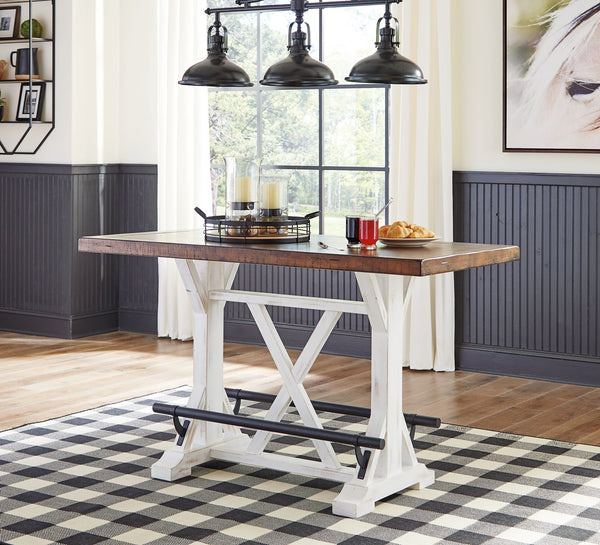 Valebeck Signature Design by Ashley Counter Height Table