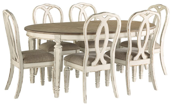 Realyn Signature Design 7-Piece Dining Room Package image