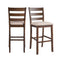 "Jax 30"" Ladder Back Bar Stool Set of 2"