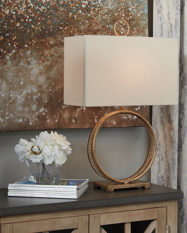 Mahala Signature Design by Ashley Table Lamp