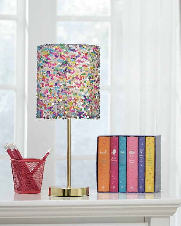 Maddy Signature Design by Ashley Table Lamp Youth image