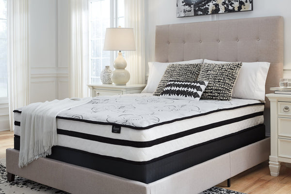 Chime 10 Inch Hybrid White King Mattress in a Box