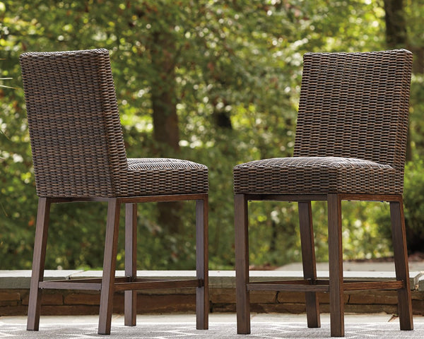 Paradise Trail Signature Design by Ashley Barstool Set of 2