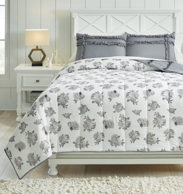 Meghdad Signature Design by Ashley Comforter Set Full