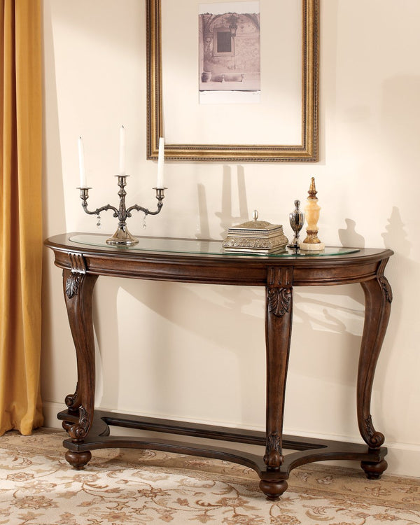 Norcastle Signature Design by Ashley Sofa Table image