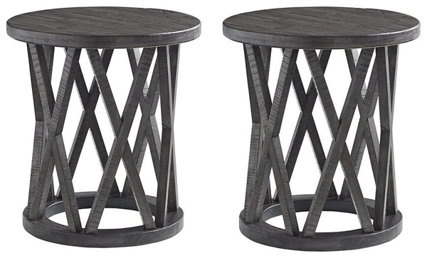 Sharzane Signature Design 2-Piece End Table Set image