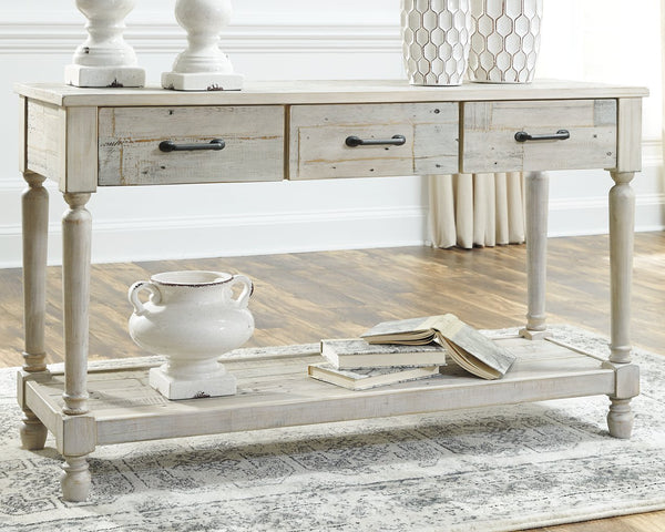Shawnalore Signature Design by Ashley Sofa Table