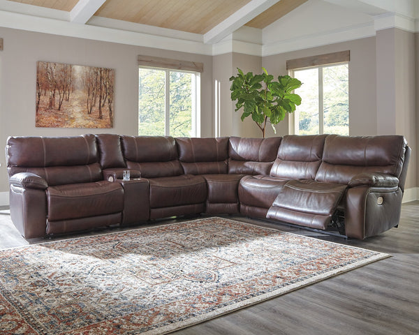 Muirfield Benchcraft 3-Piece Power Reclining Sectional image