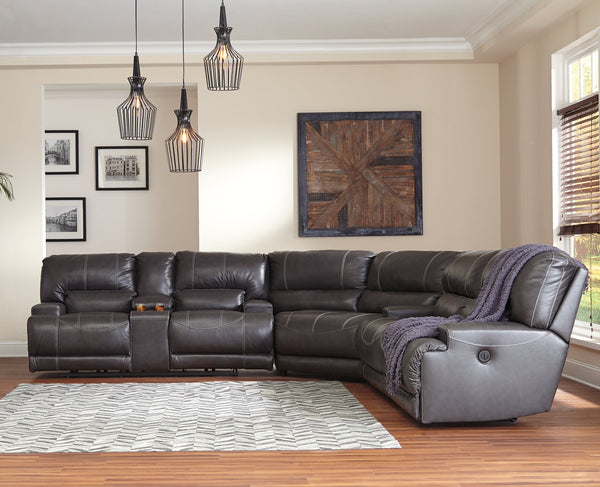 McCaskill Signature Design by Ashley 3-Piece Reclining Sectional image