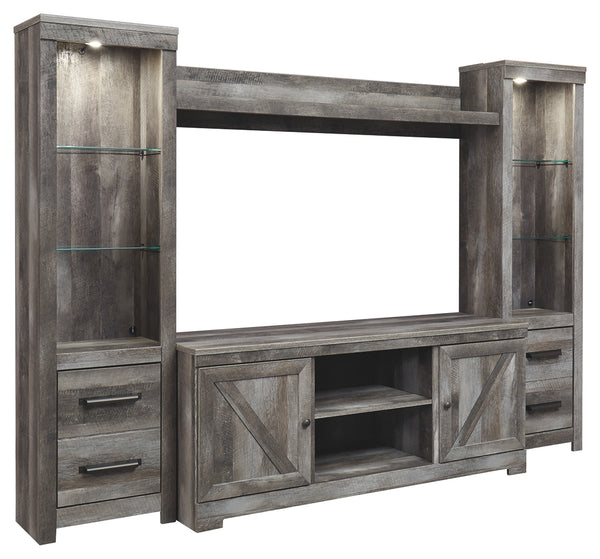 Wynnlow 4Piece Entertainment Center